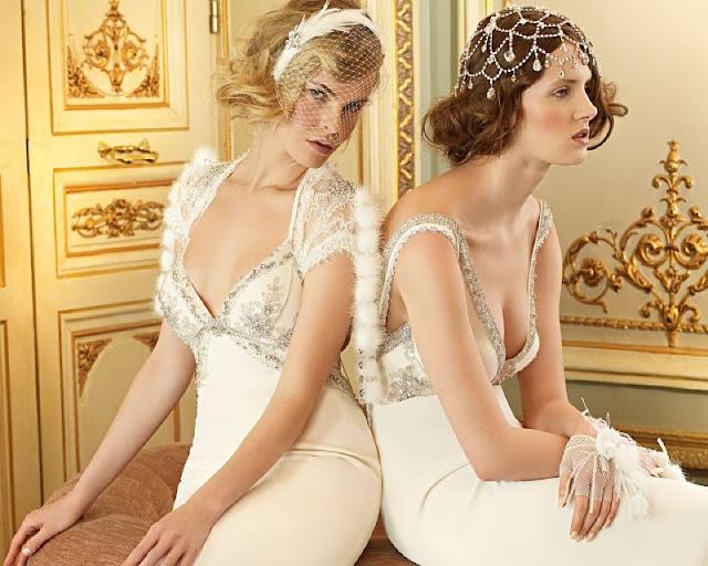 robe de mariée et accessoires de mariage années folles