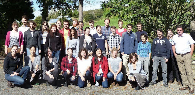 A group photo of the delegates (and organisers) at the UK-IODP 2015 conference in Newcastle.