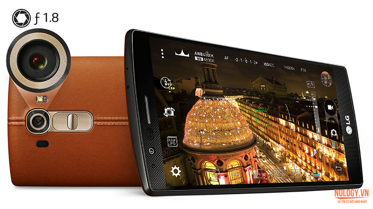 Camera LG G4 Docomo với ống kính f/1.8