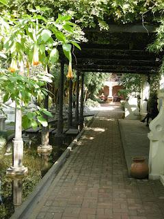 walkway at Garden of Dreams Kathmandu