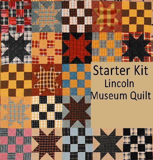 Lincoln Museum Quilt STARTER KIT