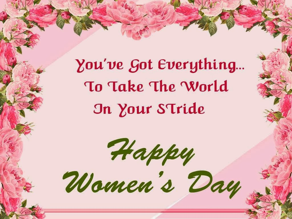 Happy Womens Day, part 3