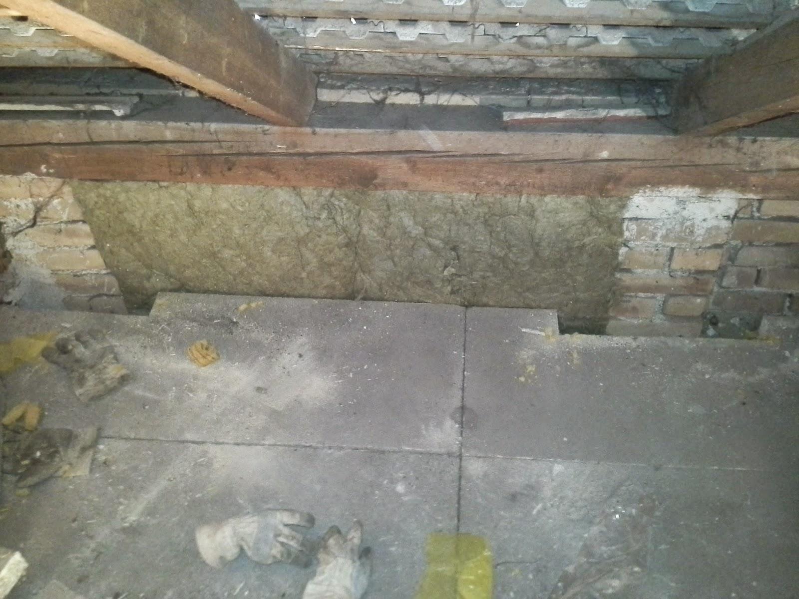 Holz und metall ein heimwerkerblog d mmen teil 2 kniestock - Innenwand dammen mit steinwolle ...