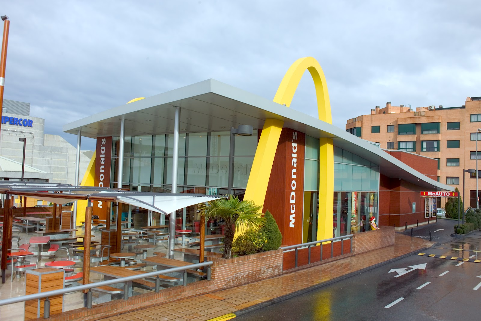Madrid en fotos for Oficinas mcdonalds madrid