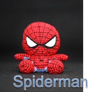 Patron Spiderman Kawaii