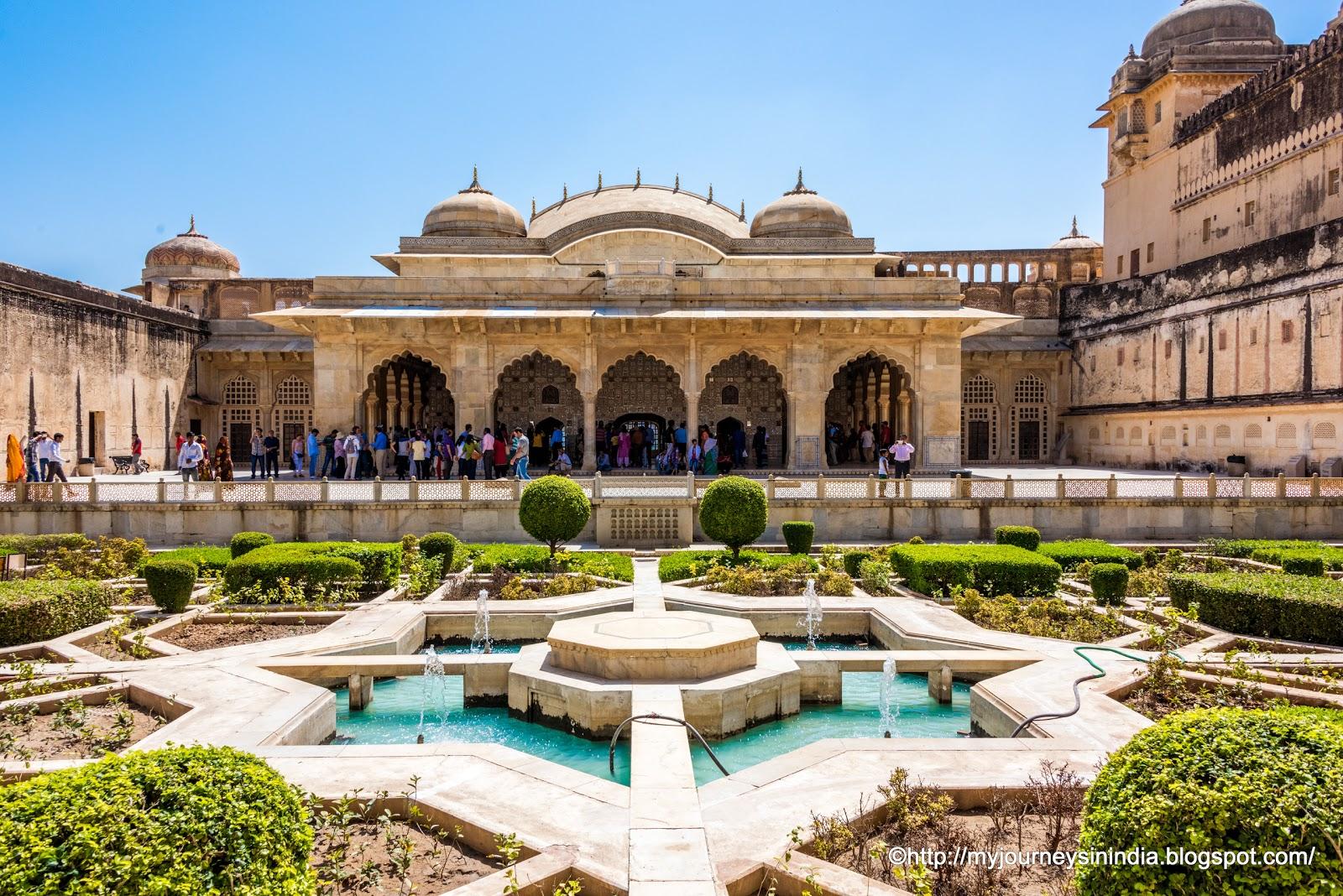 Sukh Nivas Amer Fort Jaipur