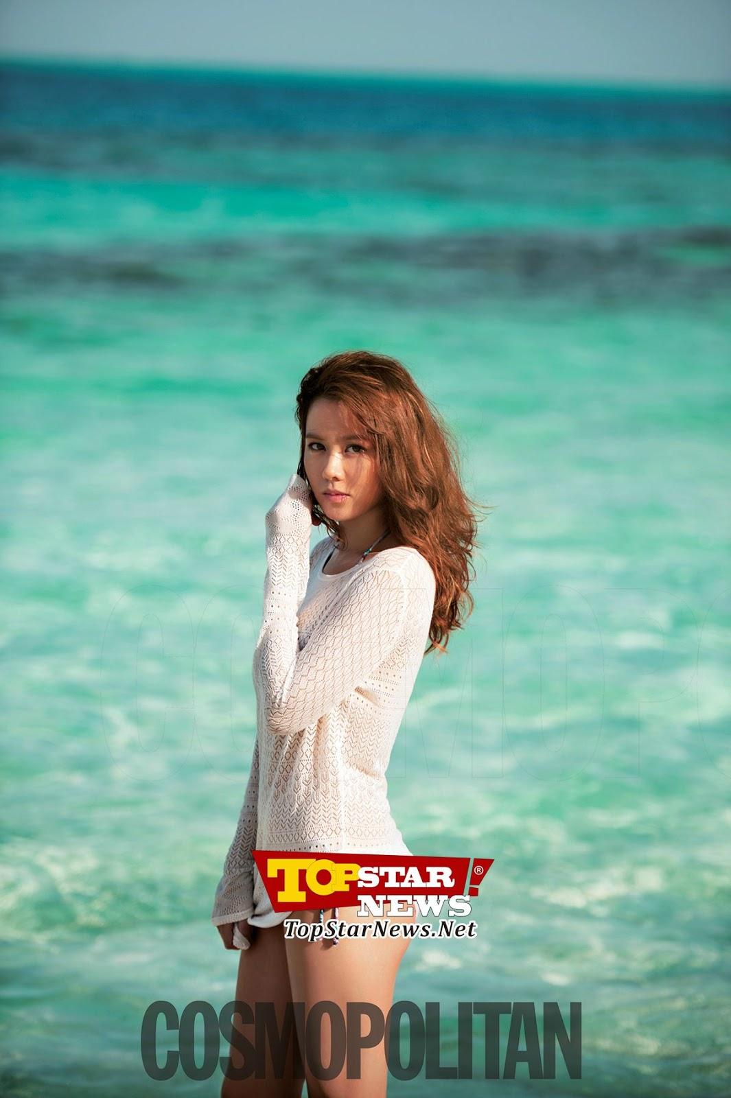 Son ye jin – cosmopolitan magazine