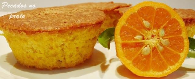 Receita de bolinhos de tangerina ou clementina