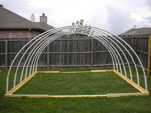 Membuat Green House Dari Pipa PVC & Membuat Green House Dari Pipa PVC   Gerak Maju Pertanian