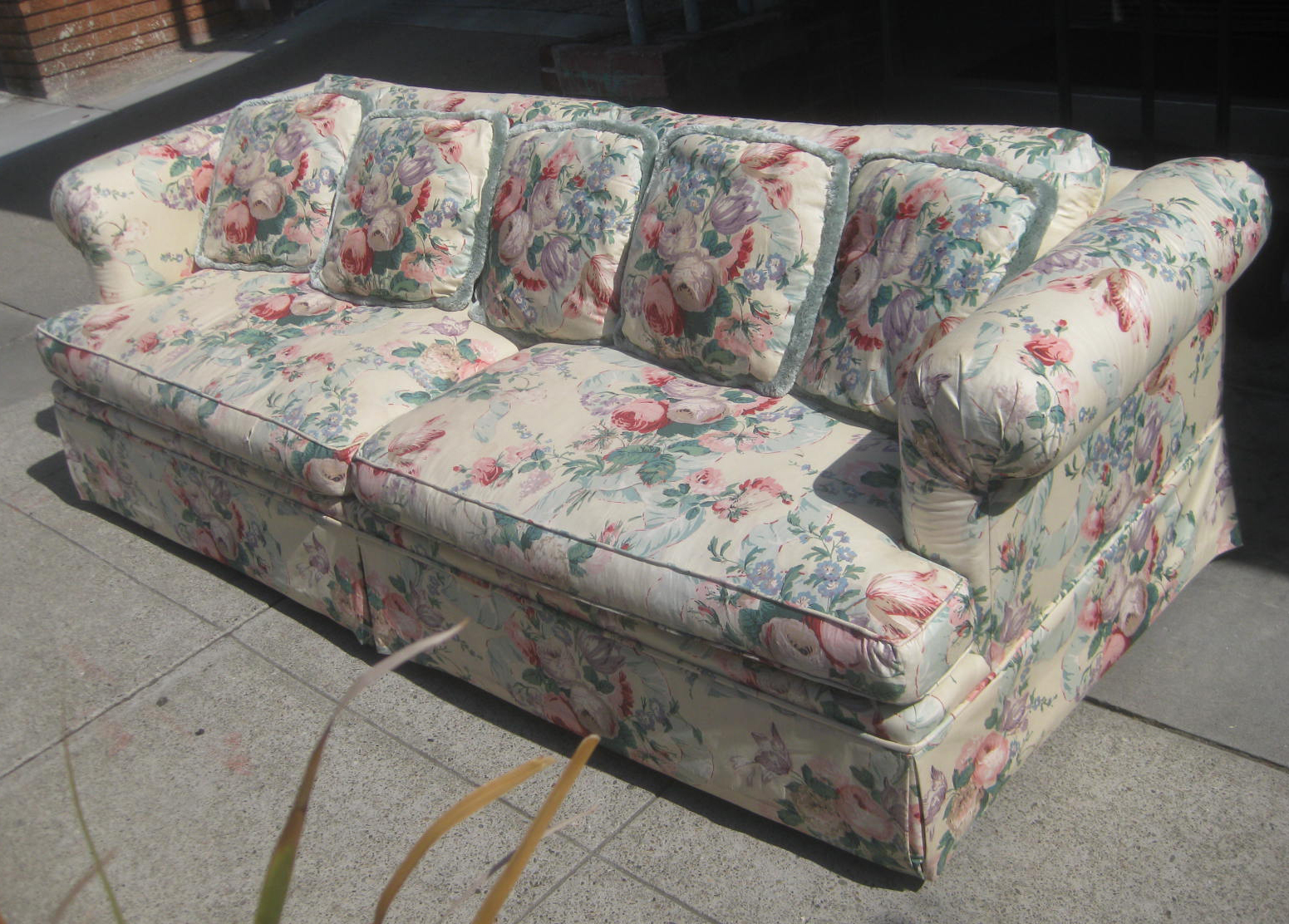Floral couch and loveseat 28 images floral slipcovers for Sofa 1 80 breit