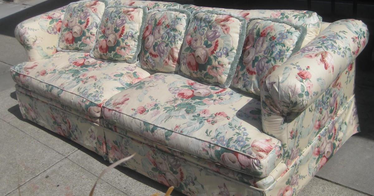Uhuru Furniture Amp Collectibles Sold Floral Sofa 80