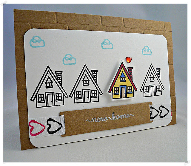 charlieundpaulchen karte zum umzug. Black Bedroom Furniture Sets. Home Design Ideas