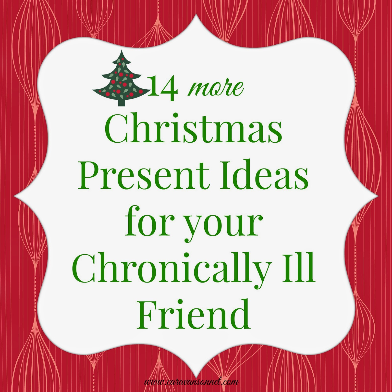 Caravan Sonnet 14 More Christmas Present Ideas For Your Chronically