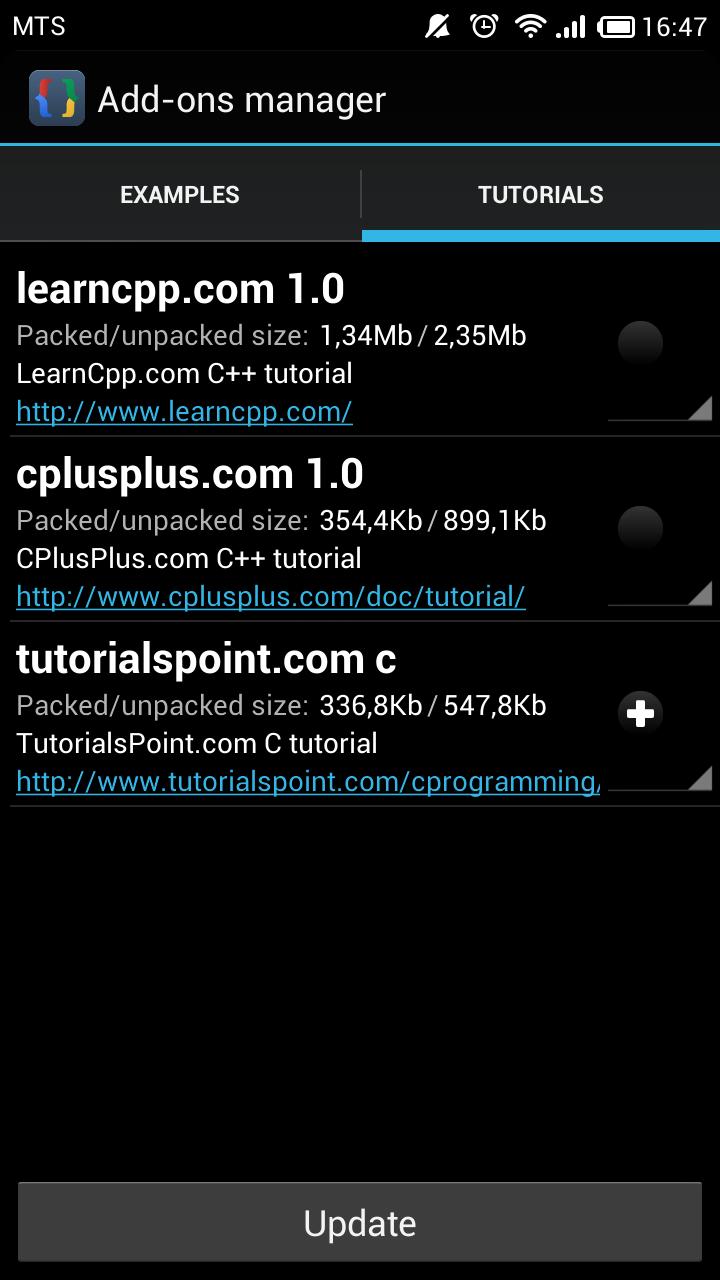 Tutorialspoint c tutorial added cppdroid cc ide for android baditri Choice Image