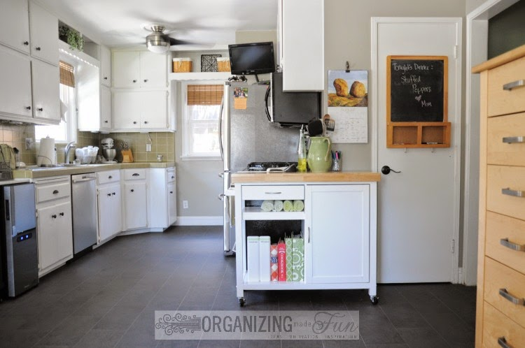 Gorgeous Kitchen::OrganizingMadeFun.com
