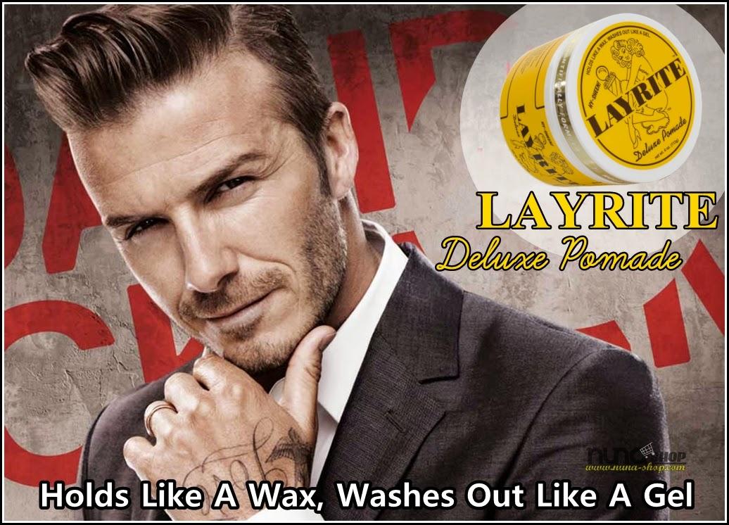 David Beckham Hair Style Pomade