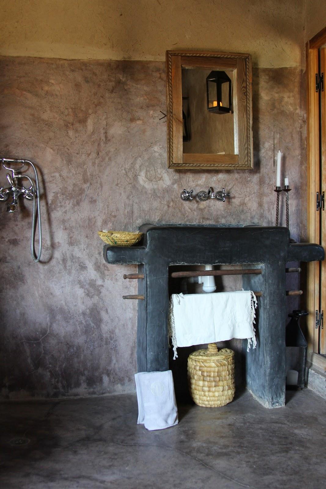 Villa Natura ekologiskt hus Österlen projektledare tadelakt badrum Marocko