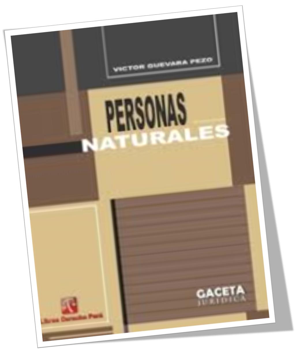 PERSONAS NATURALES – VICTOR GUEVARA PEZO – Descargar Libro Gratis