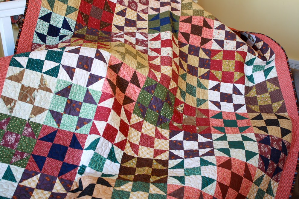 Love Laugh Sew Shoofly Quilt