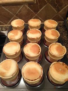 Betty Crocker cake cones
