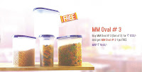Tupperware MM Oval #3 Set of 3 + !