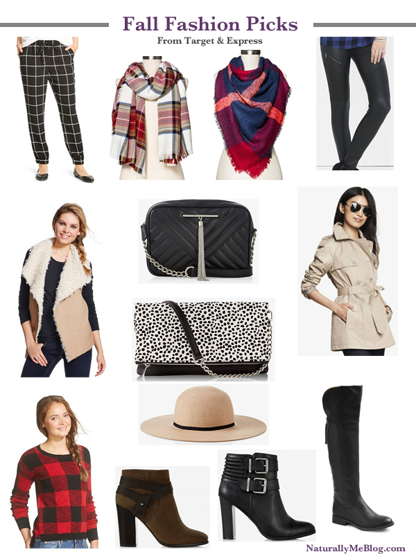 fall fashion, fall clothes, fall trends, Target fall trends 2015, Express fall trends 2015, Target, Express, Blanket scarves, moto leggings, booties, capes, ponchos, plaid, black, leather,