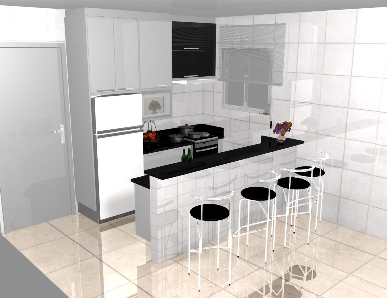 Apartamento Pequeno Fotos 1 Cozinha Americana Apartamento Pequeno HD  #703324 1300 1000