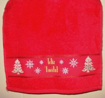 toalla navidad
