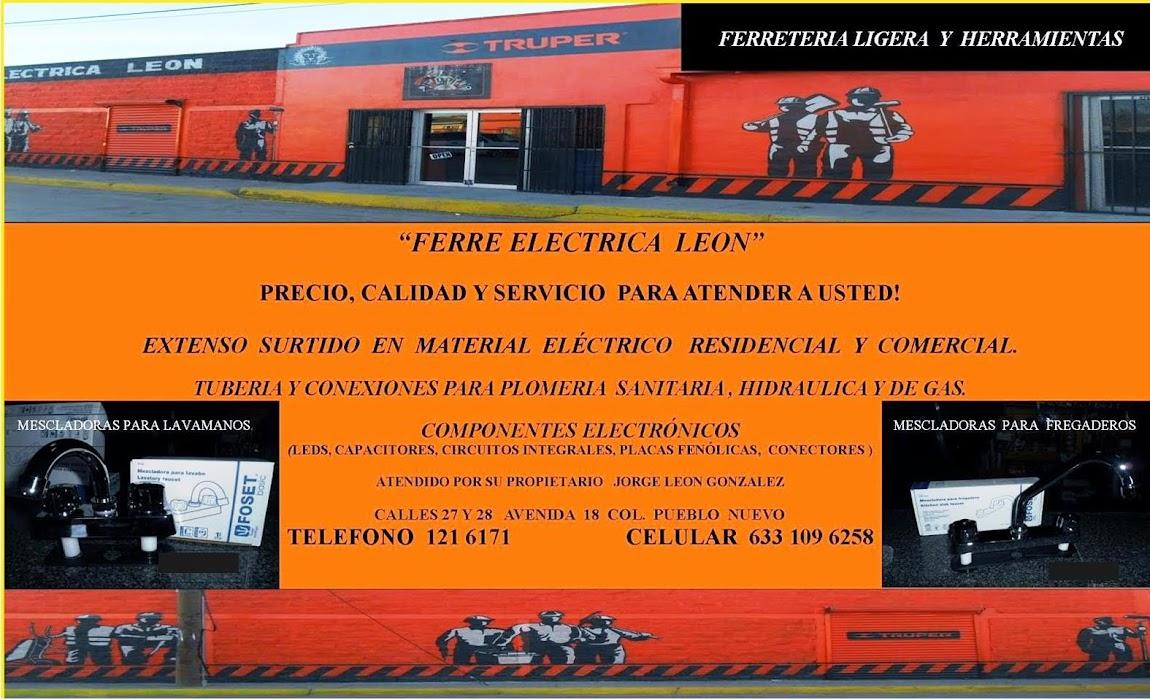 FERRE ELECTRICA LEON