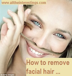 permanent facial hair removal for women, Remove Unwanted Hair
