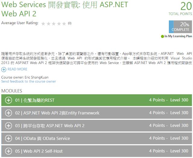 MVA - ASP.NET Web API 2
