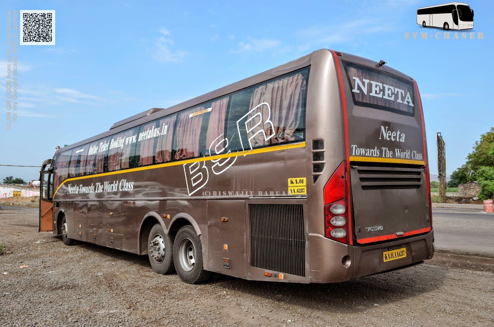 Neeta B9r Multiaxle Volvo Journey Review Biswajit Svm Chaser