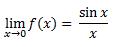 contoh limit fungsi