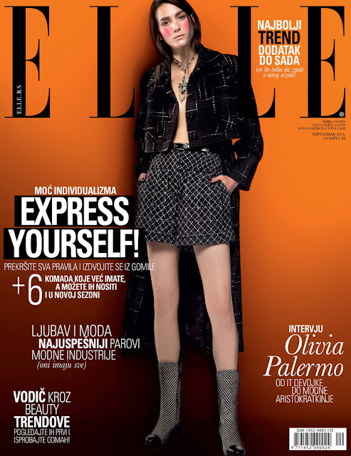 Fashion Model @ Mijo Mihaljcic - ELLE Serbia, September 2015