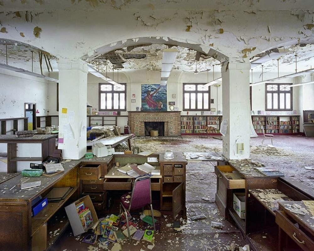 Library in Detroit, United States