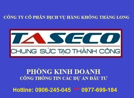 TASECO THÔNG TIN DỰ ÁN ĐẦU TƯ ( TASECOLAND)