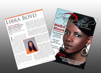 "Libra was featured in ""Having Church for Women"" Magazine"