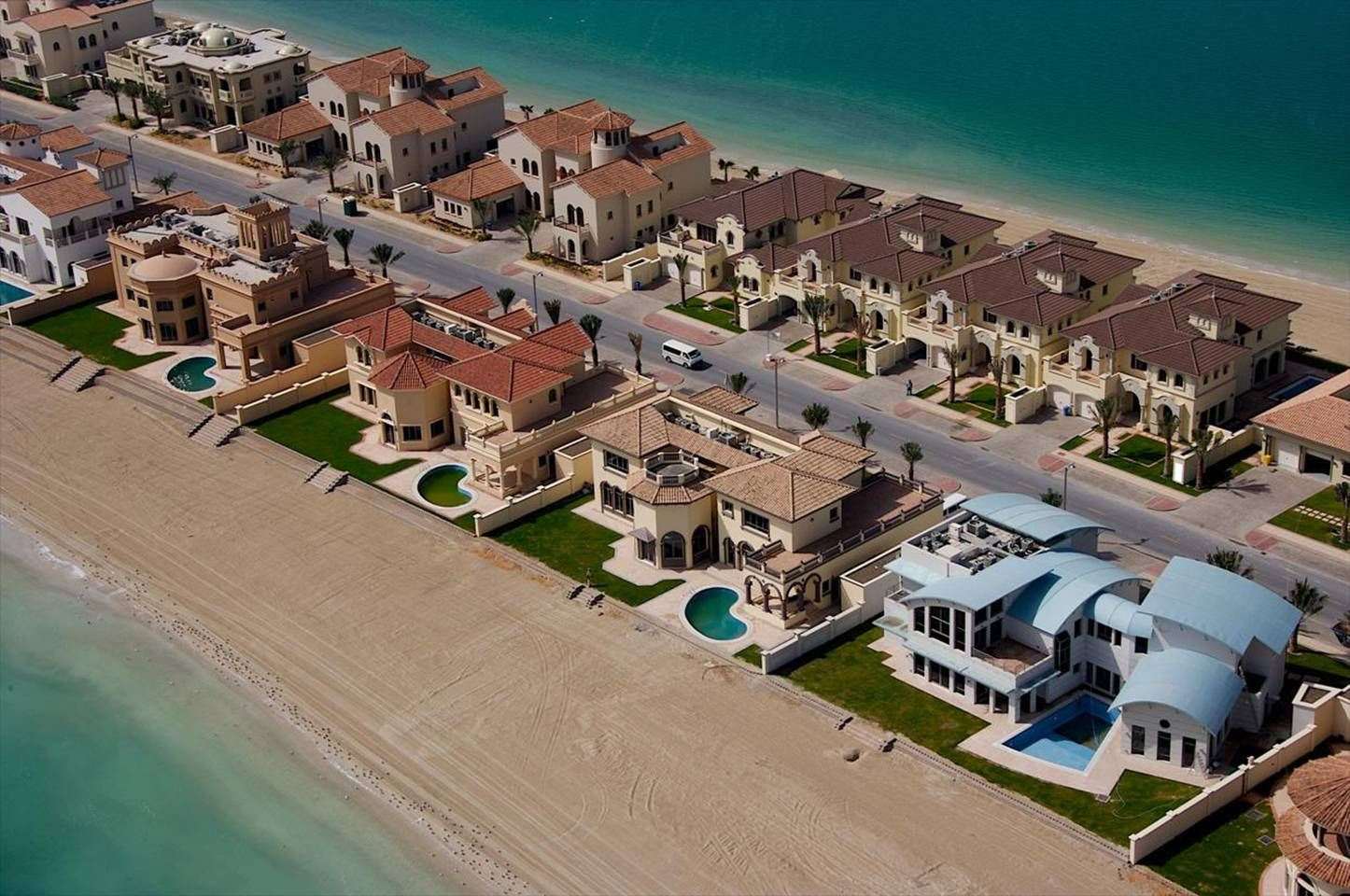 Dubai Palms Islands Houses