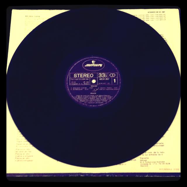 Mazo – Mazo (1982) Disco e Inserto con letras