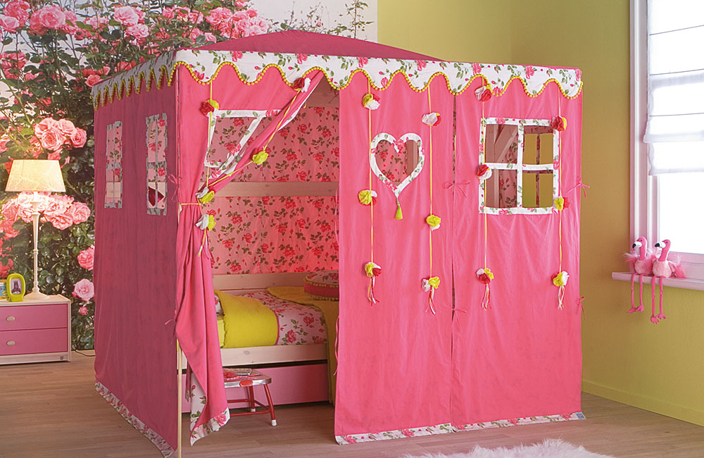 Fotos de camas infantiles originales y divertidas ideas for Paginas para disenar habitaciones