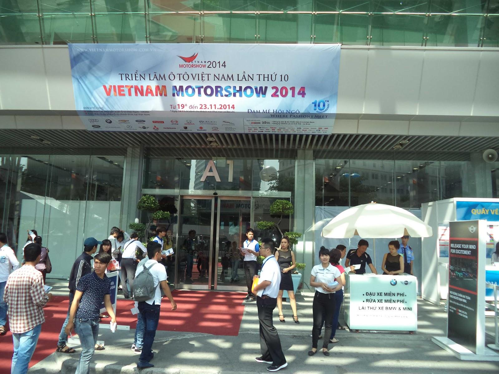 Dạo một vòng Việt Nam Motor Show 2014 cùng Terocket