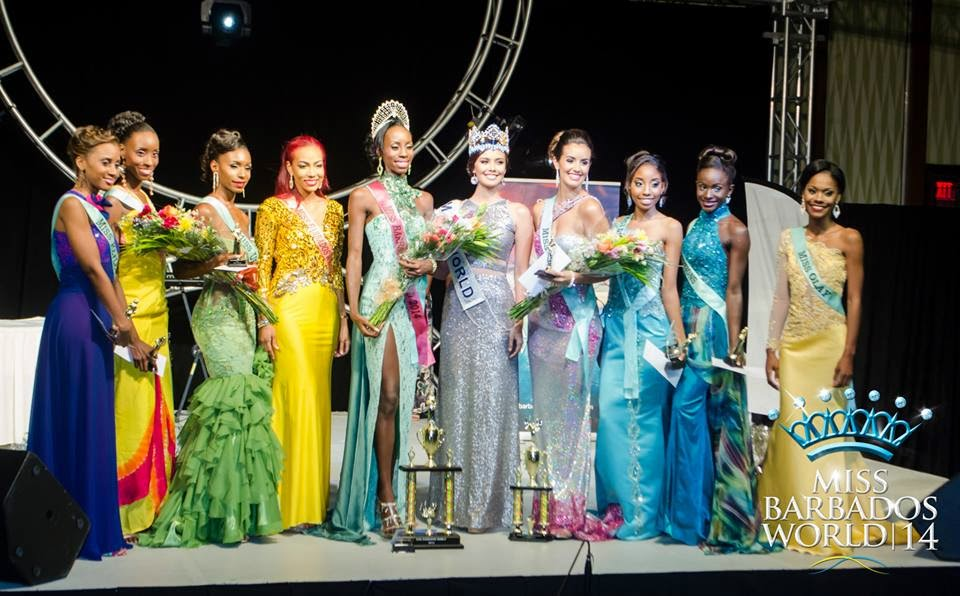 Miss World Barbados 2014 winner Zoe Trotman