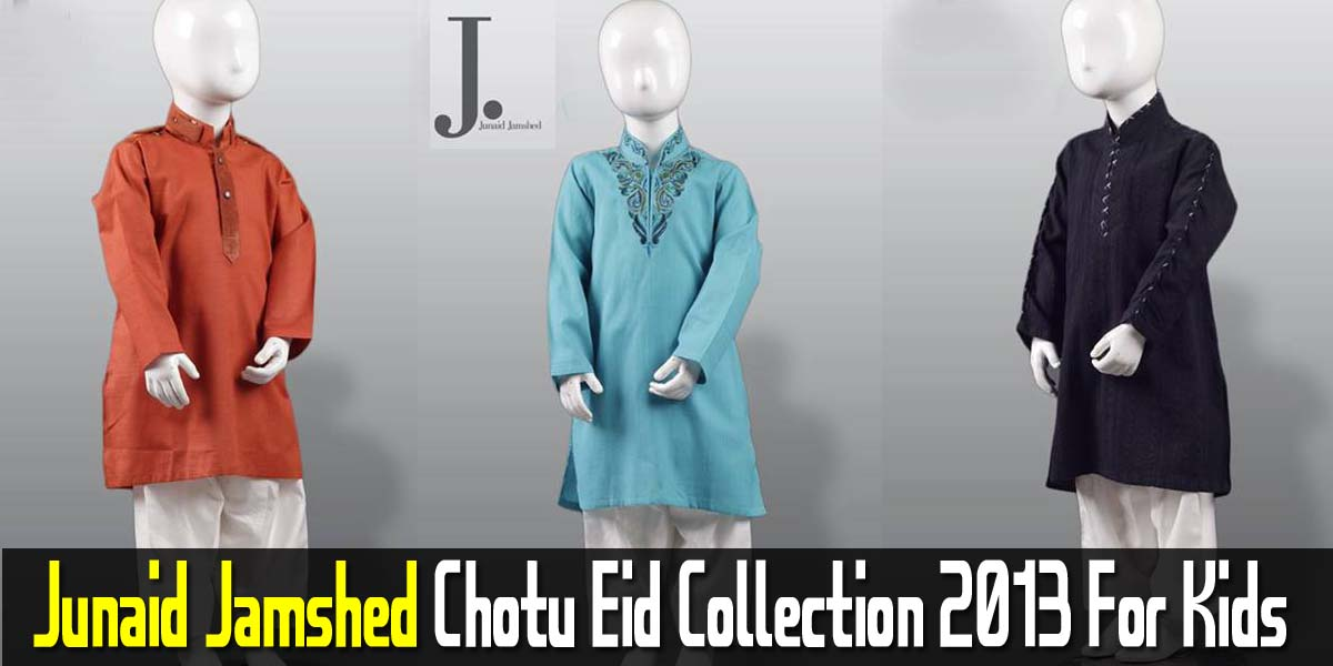 Junaid Jamshed Chotu Eid Collection 2013 For Kids | JJ ...