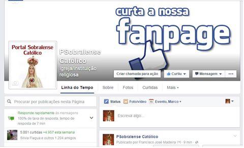CURTA A NOSSA FAN PAGE