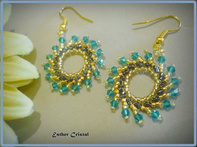 FIRE WHEEL EARRINGS DE JAYCEE