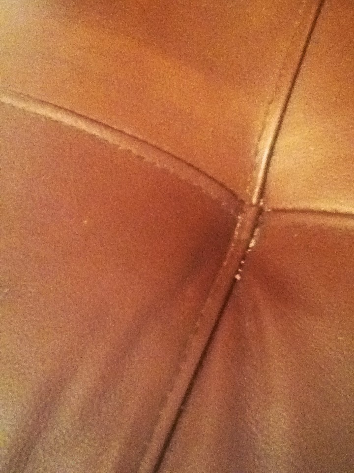 how to clean leather conditioner off towels