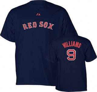 Big and Tall Ted Williams Boston Reds Sox T-Shirt