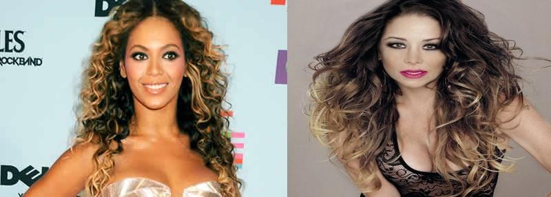 A Sugestão da Cabeleireira Como meu cabelo estava uma bagunça de cores, ela  me sugeriu escurecer para uniformizar o tom, então a outra inspiração  (Beyoncé) ... eb751537d4