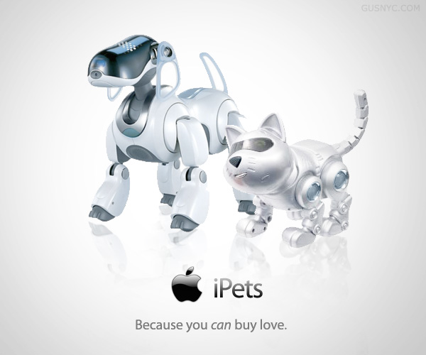 Robot concept of Pets: Intelligent computing