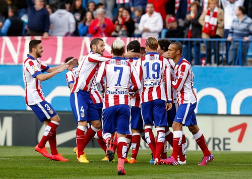 Video Full Match Atletico Madrid vs Real Sociedad 2-0 Liga BBVA Matchday 30